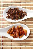 Szechuan pepper and chilli Royalty Free Stock Photos