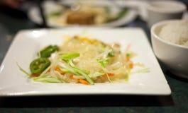 Szechuanese cuisine Stock Image