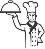 szef kucharza Ilustracji