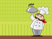 szef kuchni Obrazy Royalty Free