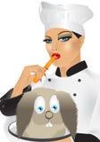 szef kuchni Obraz Stock