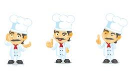 Szef kuchni 2 Zdjęcia Royalty Free