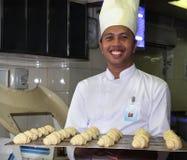 szef kuchni ciasto Fotografia Royalty Free