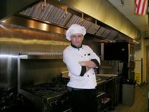 szef kuchni cocky Obrazy Royalty Free