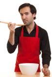 szef kuchni degustacja Obrazy Stock