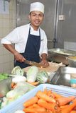 szef kuchni do warzyw Obraz Stock