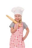 szef kuchni dziewczyna Obraz Royalty Free