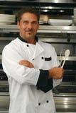 szef kuchni ja target2181_0_ Zdjęcie Royalty Free