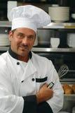 szef kuchni ja target2190_0_ Obraz Royalty Free