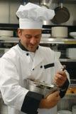 szef kuchni jedzenia target2207_0_ Fotografia Stock