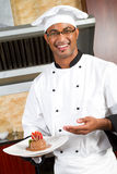 szef kuchni jedzenia teraźniejszość zdjęcia royalty free
