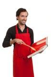 szef kuchni książka kucharska Obrazy Royalty Free