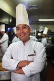 szef kuchni kuchni działanie Zdjęcie Stock