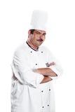 szef kuchni kuchni mundur fotografia stock