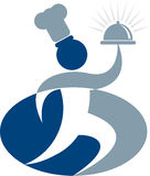 szef kuchni logo Zdjęcie Royalty Free