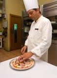 szef kuchni pizza fotografia royalty free