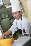 szef kuchni praca Obraz Stock