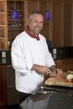 szef kuchni pracy Zdjęcie Stock