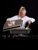szef kuchni stołówki Zdjęcie Royalty Free