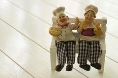 szef kuchni szczęśliwi Obraz Royalty Free