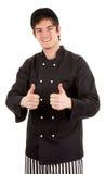 szef kuchni szczęśliwy Zdjęcie Stock