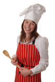 szef kuchni szczęśliwy Zdjęcia Royalty Free