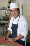 szef kuchni szczęśliwy Zdjęcia Stock