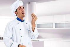 szef kuchni włoch Fotografia Royalty Free