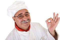 szef kuchni we włoszech Obrazy Stock