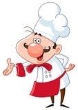 szef kuchni życzliwy Fotografia Stock