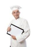 szef menu kucbarskiego seans zdjęcie royalty free