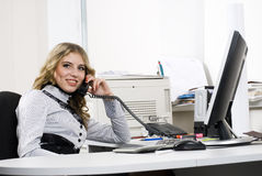 szefa biuro Zdjęcie Royalty Free
