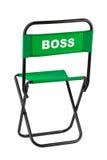 Szefa krzesło Obrazy Stock