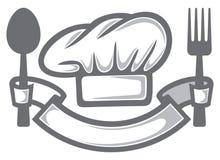 Szefa kuchni kapelusz Zdjęcia Royalty Free