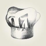 Szefa kuchni kapelusz Zdjęcie Stock