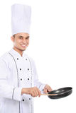 Szefa kuchni kucharstwo Fotografia Stock