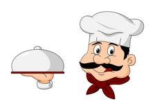 Szefa kuchni postać z kreskówki Obrazy Royalty Free