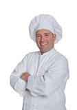 Szefów kuchni uśmiechy Obrazy Stock