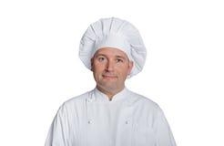 Szefów kuchni uśmiechy Obraz Stock