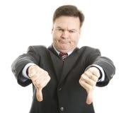 szefa puszek daje kciukom dwa Zdjęcia Stock
