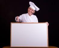 szefem kuchni Fotografia Royalty Free
