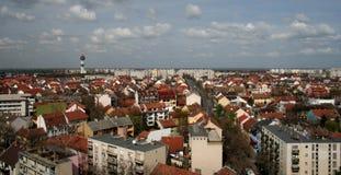 szeged солнечность города стоковые фотографии rf