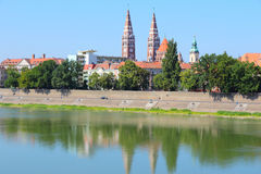Szeged royalty-vrije stock afbeeldingen