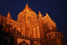 szeged chatedral szczegół Zdjęcia Royalty Free