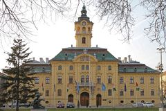 Szeged City Hall stock images