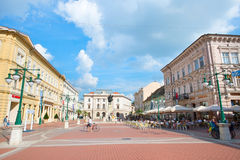 Szeged Historical Center Royalty Free Stock Images