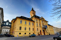 Szeged, Hungary. The city hall of Szeged, Hungary was built in a neo-baroque style in 1799 Royalty Free Stock Image