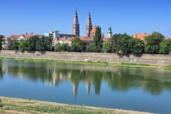 Szeged, Hungary. Szeged skyline - cityscape of Old Town in Hungary Royalty Free Stock Image