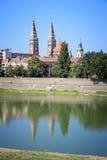 Szeged linia horyzontu obraz royalty free