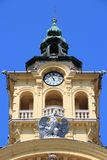 Szeged Town Hall Royalty Free Stock Photos